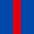 4x Königsblau / 1x Rot