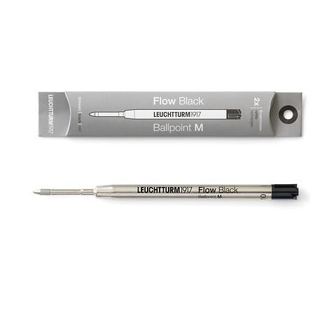 Ersatzmine M für Drehgriffel Nr. 1, Schwarz, 2er-Pack - Kugelschreiber