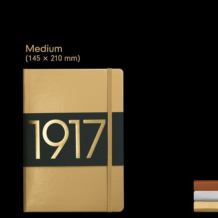 1917 Metallic Edition Notizbücher Medium