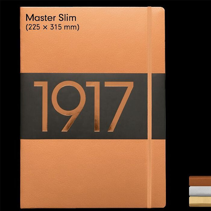1917 Metallic Edition Notizbücher Master Slim