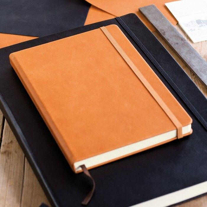 Notizbuch Echtleder