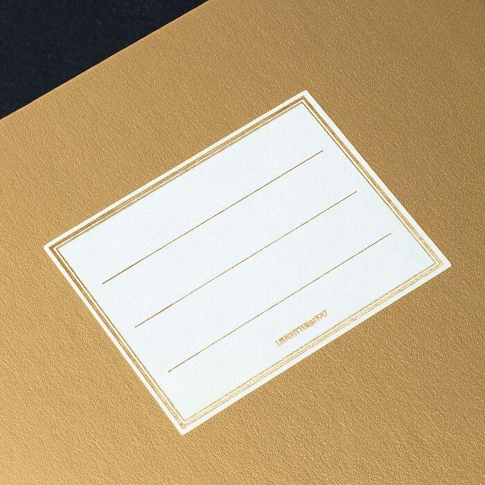Notizbuch Metallic Edition